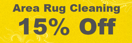 area rug care coupon