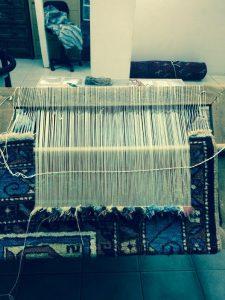 oriental rug reweave